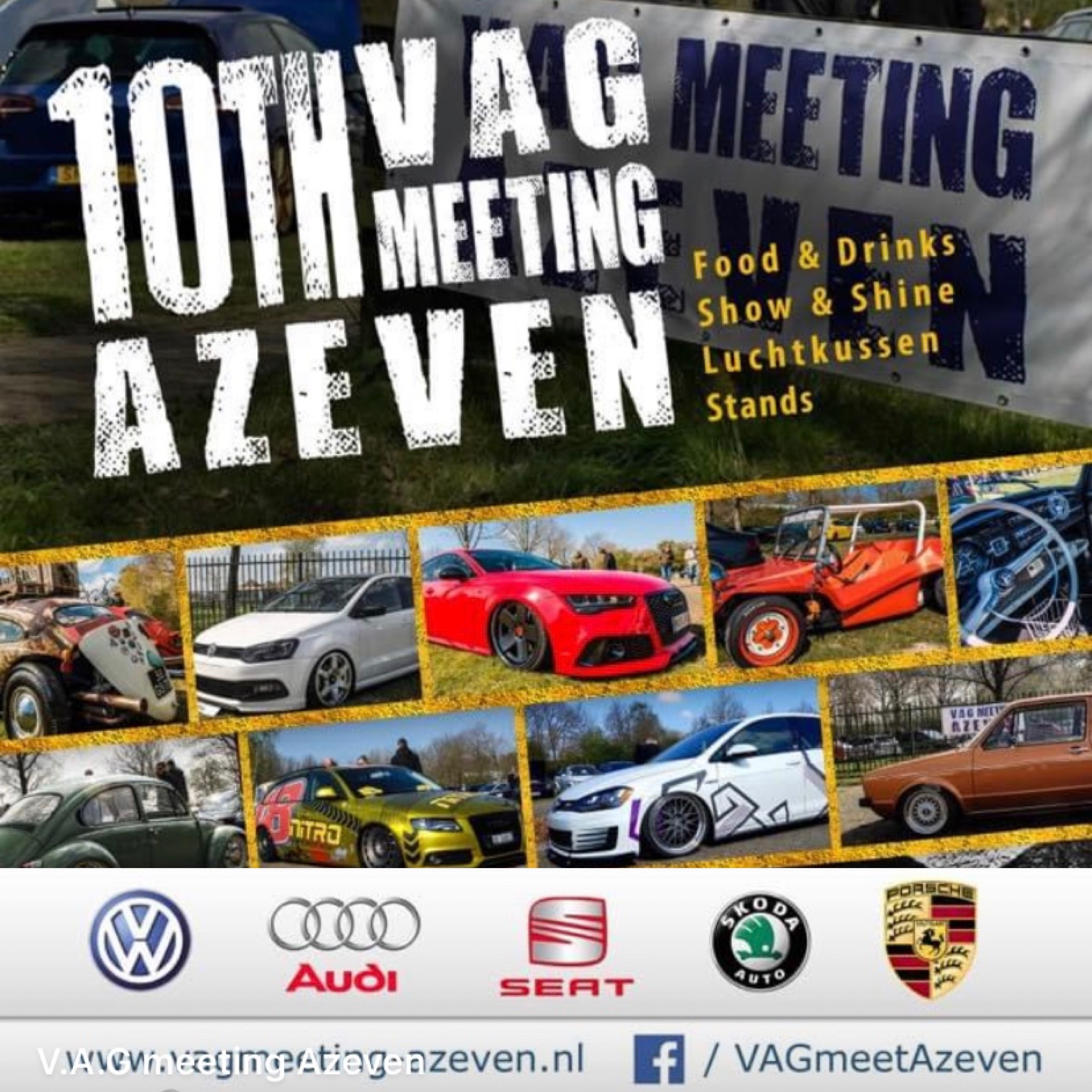 10th Event Vag Meeting Azeven @ Fries Congres centrum